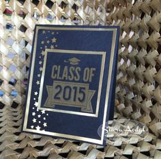 Stampin up Class of 2015 gift c ard set