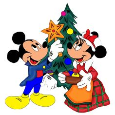 Disney Group Images - Disney And Cartoon Christmas Clip Art Images ...