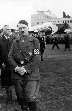 Now this is a great photo with a fascinating backstory. Hitler's expression…