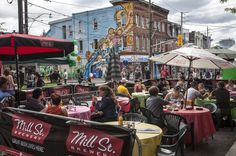 Mill St, Cabbagetown, Festival of Arts