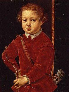 Titolo dell'immagine : Agnolo Bronzino - Portrait of Don Garzia de' Medici (b.1547) (panel)