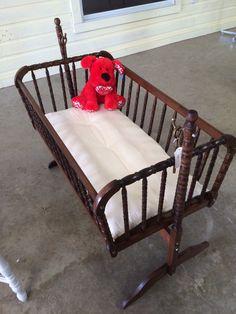 Vintage Jenny Lind Cradle Redo. Jenny LindFurniture Decor