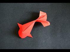 Origami: Fish Koi ( Riccardo Foschi ) - New Ideas Origami Goldfish, Origami Fish Easy, Chat Origami, Design Origami, Instruções Origami, Origami Bookmark, How To Make Origami, Origami Butterfly, Useful Origami