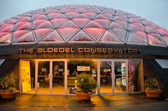 The Bloedel Floral Conservatory's dome