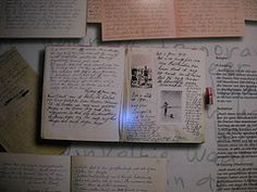 It is a facsimile of the diary of Anne Frank, Anne Frank Museum, Berlin, Writing Inspiration, Journal Inspiration, Anne Frank Amsterdam, Moleskine, Torah, Bullet Journal, History, Female Leaders, Notebooks