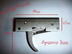 Mecanisme inox arbalete