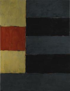 Sean Scully (b. 1945) Enter Yellow (1999) oil on linen 213.5 x 162.5 cm