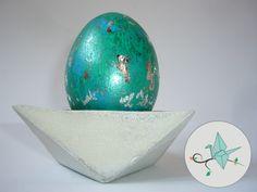 Streuner & Träumer: Eierbecher aus Beton