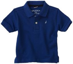 Nautica Sportswear Kids Baby-Boys Infant Short Sleeve Solid Polo Shirt