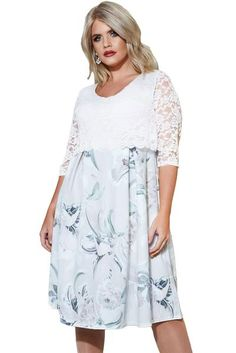 Lace Overlay Floral Skirt Curvy Dress,Floral Dresses,Lace Dresses,Wholesale Plus Size Dresses Plus Size Fashion Dresses, Plus Size Maxi Dresses, Modest Dresses, Cheap Dresses, Maxi Dress With Sleeves, Lace Dress, Casual Day Dresses, Curvy Dress, Ldr