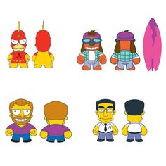The Simpsons 25th Anniversary Blind Box by Kidrobot - Preorder