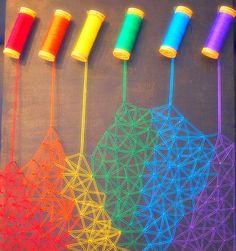 Rainbow To Me Is Rainbow God.  Rainbow God Creative Colours.  ❤