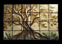 This is gorgeous!!! - Little Tree, backsplash | Natalie Blake Studios