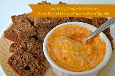 Tastefully Simple Multi-Grain Beer Bread Mix and Warm Pizza Dip Mix - Thrifty Jinxy