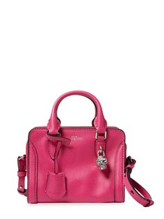 Small Leather Satchel from Designer Accessories: Up to 80% Off on Gilt