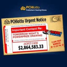 cash prize notice pchdont throw those envelopes away did you know that many pch envelope receivers lose chances on winning because they dont send the envelopes back to pchenter today for chances to win smiles - PIPicStats Instant Win Sweepstakes, Online Sweepstakes, Money Sweepstakes, Lotto Winning Numbers, Win For Life, Number Generator, Lottery Winner, Lotto Winners, Winning Lotto
