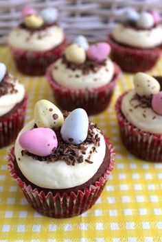 Almost Spring Cupcakes