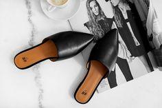 New In: Slip In Sandals.