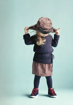 My Little Square,  sweater Merveilles, hat Bakker Made with Love and skirt Je Suis en CP