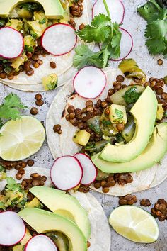 Lentil Tacos with Grilled Pineapple-Tomatillo Salsa | Floating Kitchen