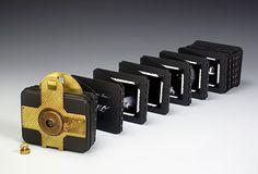Pin hole camera artist book