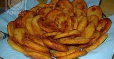 Zsírban sült krumplis pogácsa