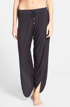 Free shipping and returns on Laundry by Shelli Segal Cover-Up Pants at Nordstrom.com. Lightweight, after-sun pants feature a beautifully draped silhouette enhanced by thigh-high side slits.