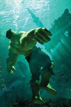 Hulk by Michael Komarck