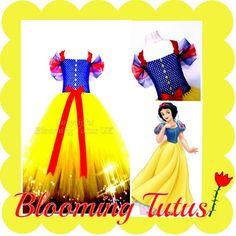 Snow White inspired tutu dress  Www.facebook.com/bloomingtutusuk