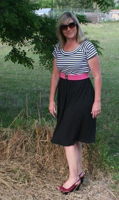 Looking for sewing project inspiration? Check out DIY T Shirt Dress by member Beth Huntington.