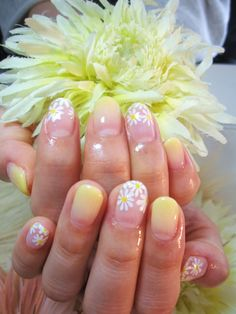 Pretty for spring. :)   mua nail