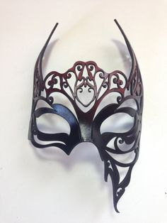 Newest Absolutely Free Mascara femininas Concepts , Nephthys Red and Black Egyptian Leather Mask by Gothic Mask, Masquerade Party, Masquerade Masks, Leather Mask, Cool Masks, Venetian Masks, Masks Art, Fashion Mask, Wedding Tattoos