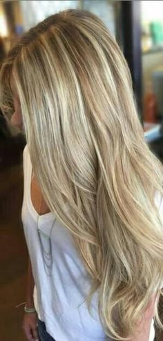 Long hair don't care ❤ Get instant length and volume with Cliphair's Blonde Mix Extensions.  #humanhairextensions