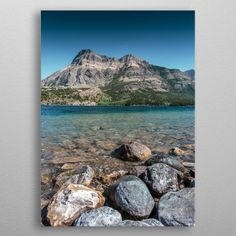 Crystal Waters by Csaba Nagy Wall Art Prints, Canvas Prints, Canvas Art, Wall Decor, Posters, Fine Art, Mountains, Interior Design, Crystals