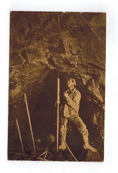 Mining Gold in Cripple Creek district Colorado ca 1912 - To San Diego
