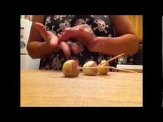 ▶ DIY Caramel Apple Bites - YouTube  SEE how to make your caramel STICK to your cute little apple bites!  It can be done....and it's super easy!