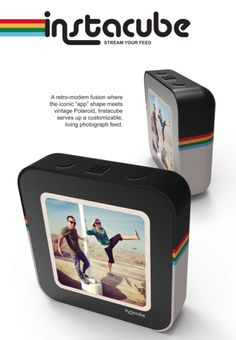 $200 Instacube is a really awesome marriage of design and social interaction in one gorgeous cube.