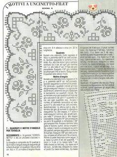Filet Crochet Charts, Crochet Stitches, Knitting Patterns, Crochet Patterns, Beautiful Crochet, Crochet Doilies, Holidays And Events, Bullet Journal, Home Decor