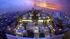 Moon Bar – Las Vegas, located on the 53rd floor of the hotel Palms over Playboy Club