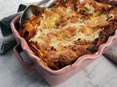 Lasagne bolognese, Per Morbergs recept Ricotta, Mozzarella, Zucchini, 20 Min, Bolognese, Scones, Squash, Quiche, Cauliflower