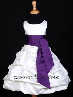 164 best flower girl dresses images on pinterest girls dresses flower girl dress whiteplum purple 4 6 7 8 10 12 14 16 mightylinksfo