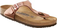 Schuhe von BIRKENSTOCK, Footprints, Birkis, TATAMI, Papillio, ALPRO, OCKENFELS, Betula, Jolly | Gizeh NL WB Metallic Copper | Schuhe – Clogs – Sandalen – Stiefel - Hausschuhe - Badeschuhe - Bootsschuhe - Trekkingsandalen - Businessschuhe - Sneakers - High Heels - Sandaletten - Pantoletten - Slipper - Damenschuhe - Herrenschuhe - Kinderschuhe - Einlagen