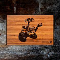 Personalized Cutting Board WALL-E Heisenberg Cutting Board Wooden Cookware Original Christmas Birthday Gift - GG11085