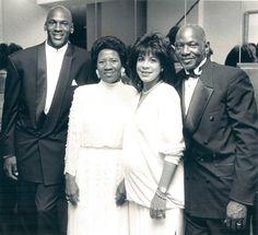 Michael Jordan ( Mom&Dad)