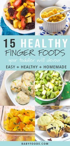 These 15 Healthy Fin Baby Recipes Pinterest Food Toddler