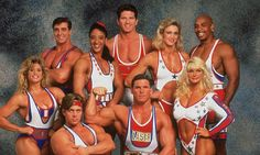 American Gladiators, a popular television show that aired from 1989-1996