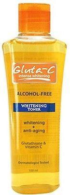 Gluta-C Intense Skin Whitening Anti-Aging Glutathione Vitamin C Toner | Health & Beauty, Skin Care, Lightening Cream | eBay!
