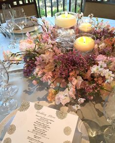 Liling Liao//rirei ryoさんはInstagramを利用しています:「. . bridal fair @soshuen_bridal spring coordinate スイトピーにストックやライラック ちらっと入ったサクラが可愛い #thegardenplacesoshuen #tgps #蘇州園」