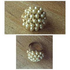 Check out this item in my Etsy shop https://www.etsy.com/listing/253532672/fall-sale-vintage-pearl-cocktail-cluster