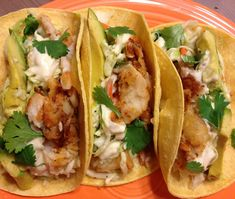 Halibut Fish Tacos - Best I have tried and I have tried many...